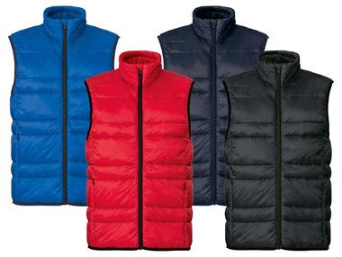 LIVERGY® Pánská prošívaná vesta