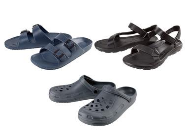 LIVERGY® Pánské pantofle / nazouváky / sandály
