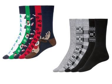 LIVERGY® Pánské ponožky v dárkovém boxu