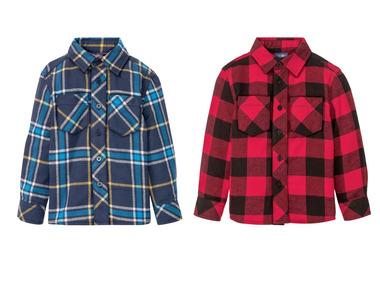 LUPILU® Chlapecká flanelová košile