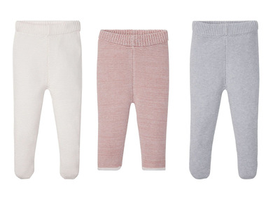 LUPILU® Dívčí pletené kalhoty BIO