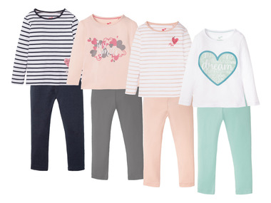 LUPILU® Dívčí pyžamo BIO