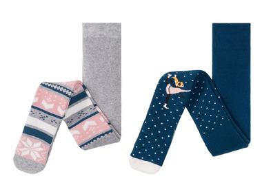 LUPILU® Dívčí termo punčochové kalhoty