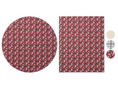 MERADISO® Ubrus kulatý Ø cca 160 cm / hranatý 130 x 160 cm