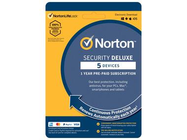 Norton Security Deluxe na 5 zařízení