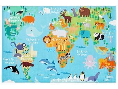 Obsession Dětský koberec Torino Kids 233 World Map