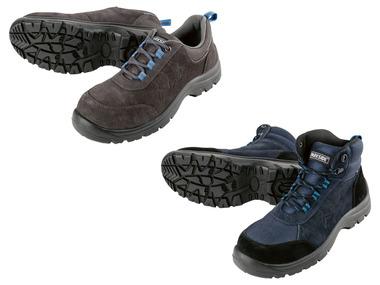 PARKSIDE® Pánská kožená bezpečnostní obuv S1