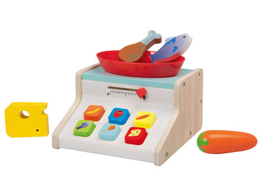 PLAYTIVE® Dřevěná kuchyňská váha