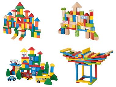 PLAYTIVE® Dřevěná stavebnice