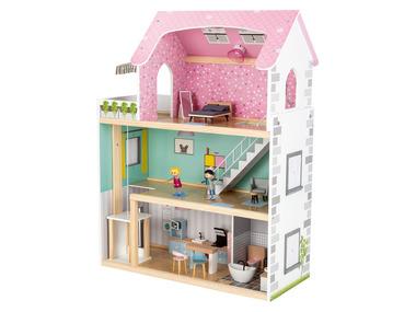 PLAYTIVE® Dřevěný domeček pro panenky XXL