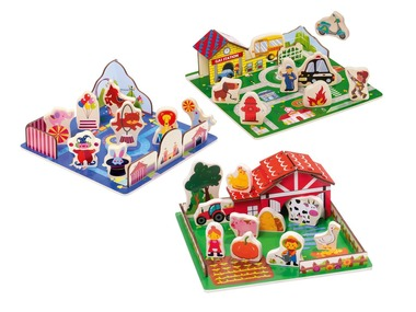 PLAYTIVE®JUNIOR 3D nástrčné puzzle