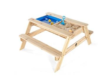Plum® Dětský piknikový stůl s pískovištěm a bazénkem