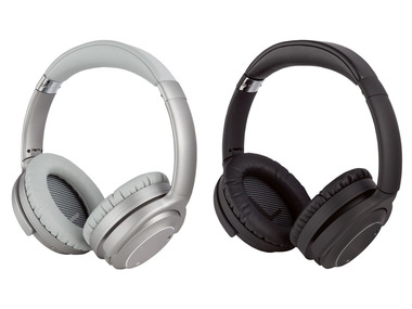 SILVERCREST® Bluetooth® sluchátka s aktivním potlačením okolního hluku SBKL 40 B2