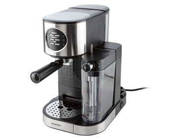 SILVERCREST® Espresso kávovar s napěňovačem mléka SEMM 1470 A2