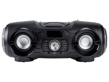 SILVERCREST® Přenosné CD/MP3 rádio s Bluetooth SPSS 125 A1