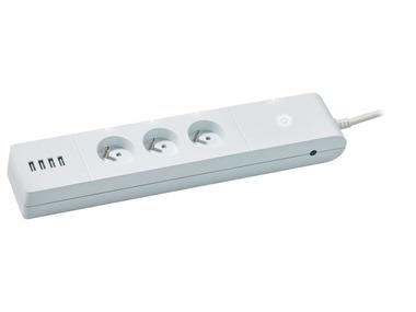 SILVERCREST® Zigbee 3.0 Smart Home Prodlužovací kabel s USB