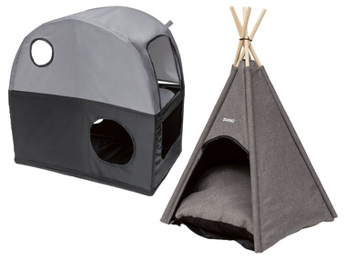 ZOOFARI® Cestovní domeček pro kočku / týpí pro domácí zvířata