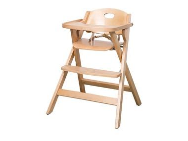 roba Dětská skládací jídelní židlička